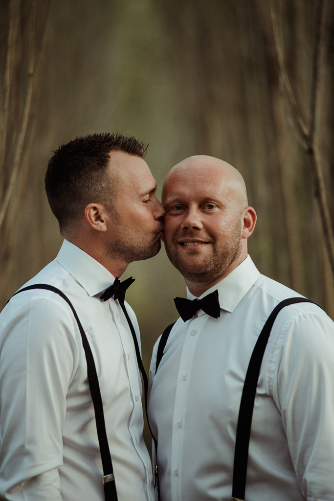 Bröllopsfotografering HBTQ salix